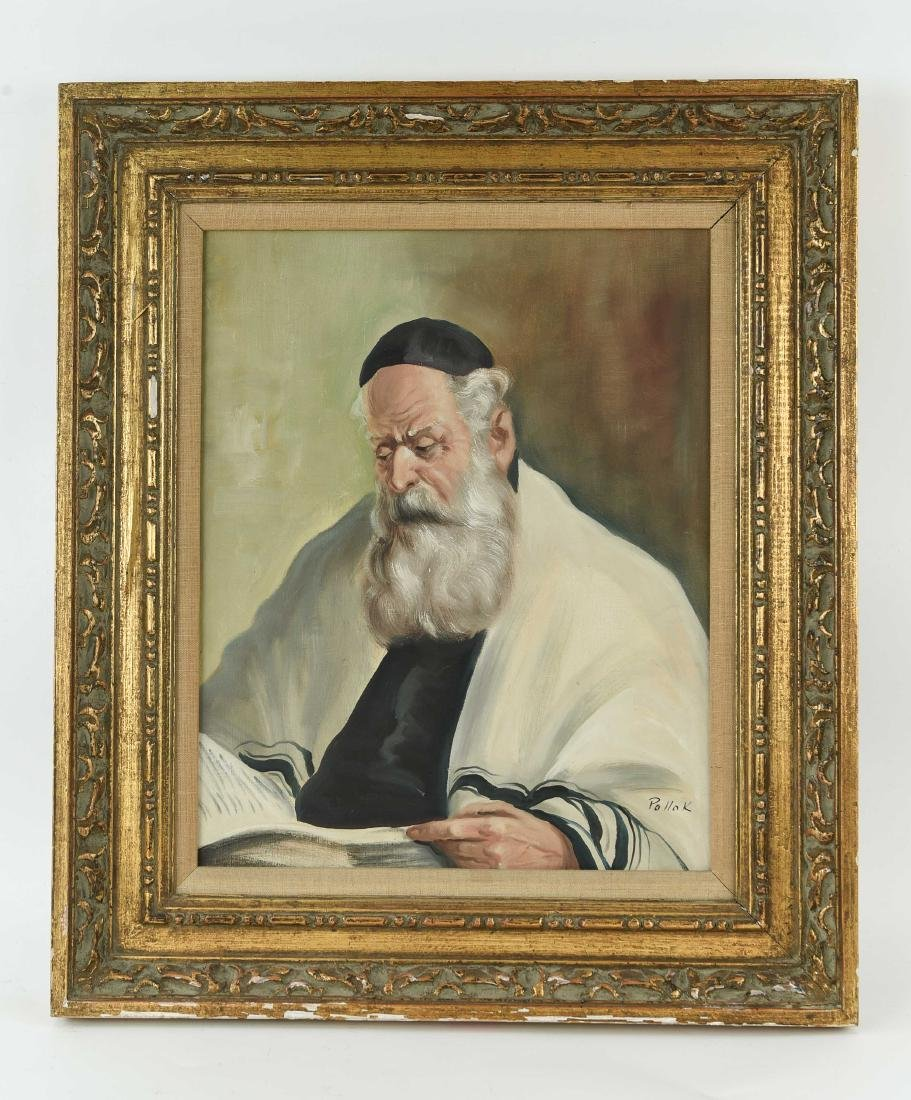 POLLOK RABBI PAINTING