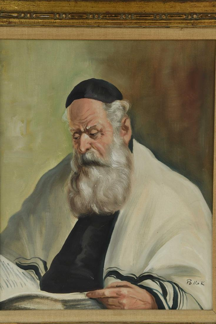 POLLOK RABBI PAINTING - 2