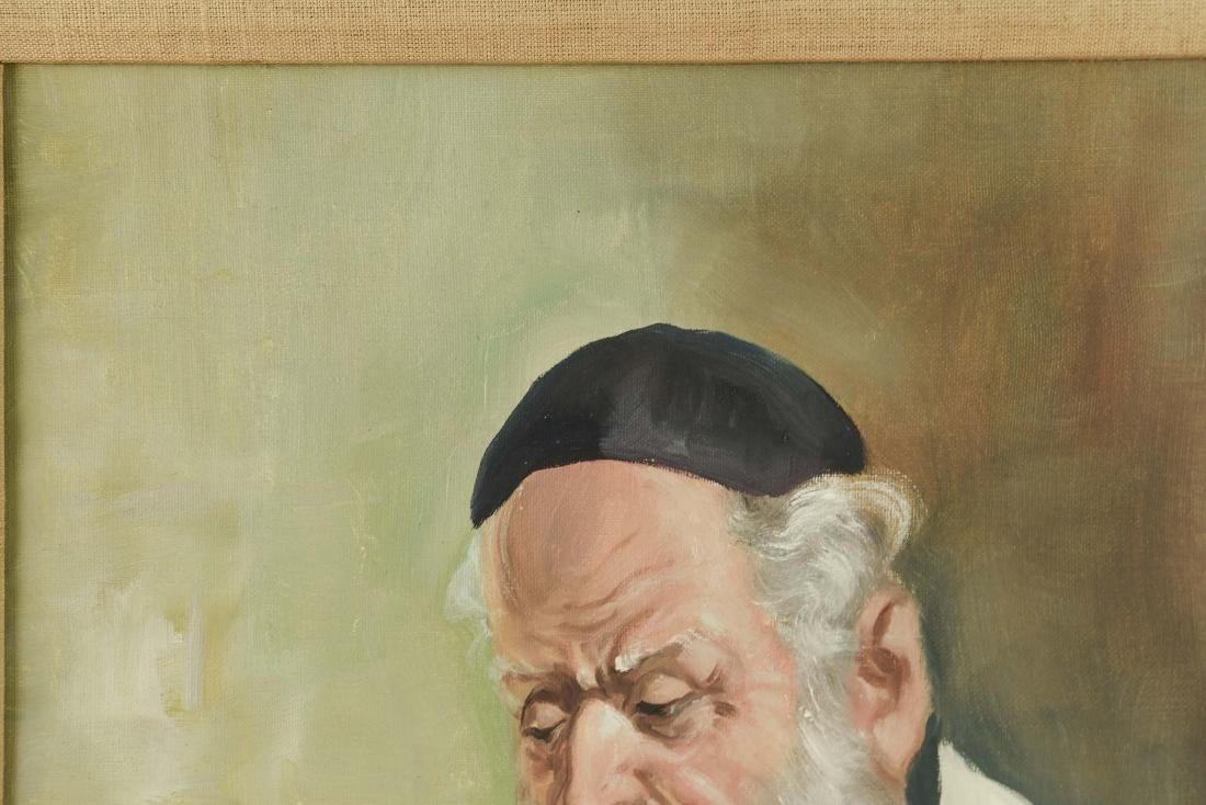 POLLOK RABBI PAINTING - 3