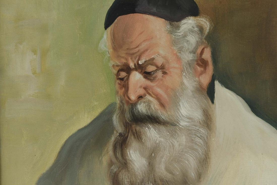 POLLOK RABBI PAINTING - 4