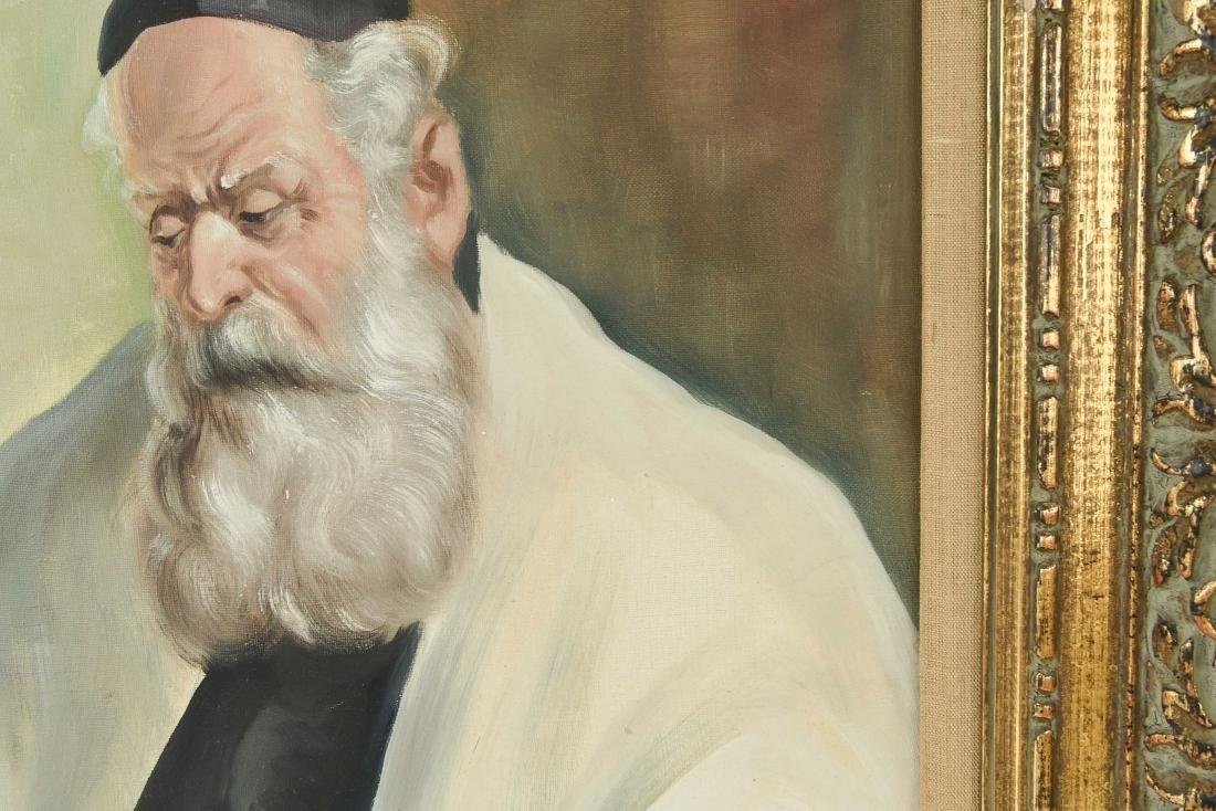 POLLOK RABBI PAINTING - 9