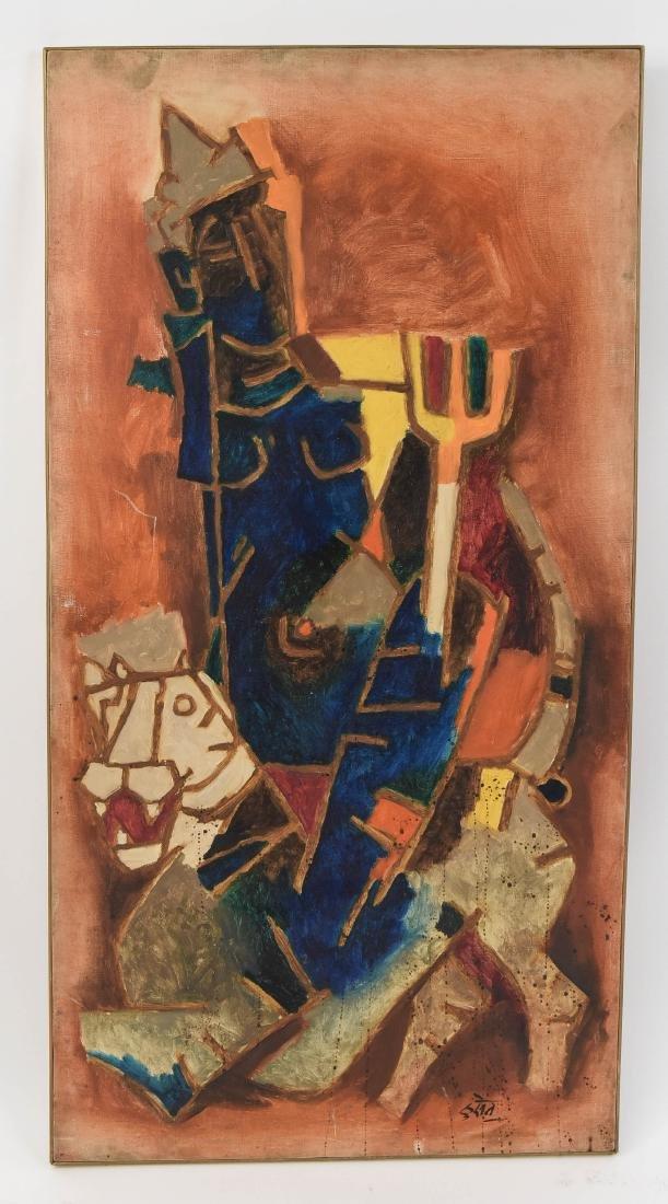 MAQBOOL FIDA HUSAIN (INDIA 1915-2011)