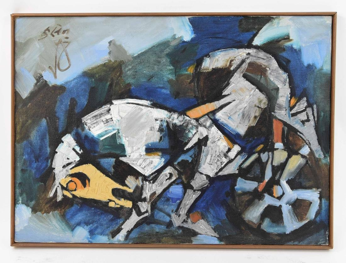 MAQBOOL FIDA HUSAIN (INDIA 1915-2011)