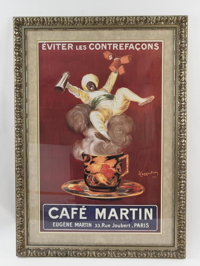 CAFE MARTIN POSTER