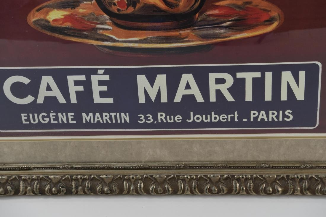 CAFE MARTIN POSTER - 8