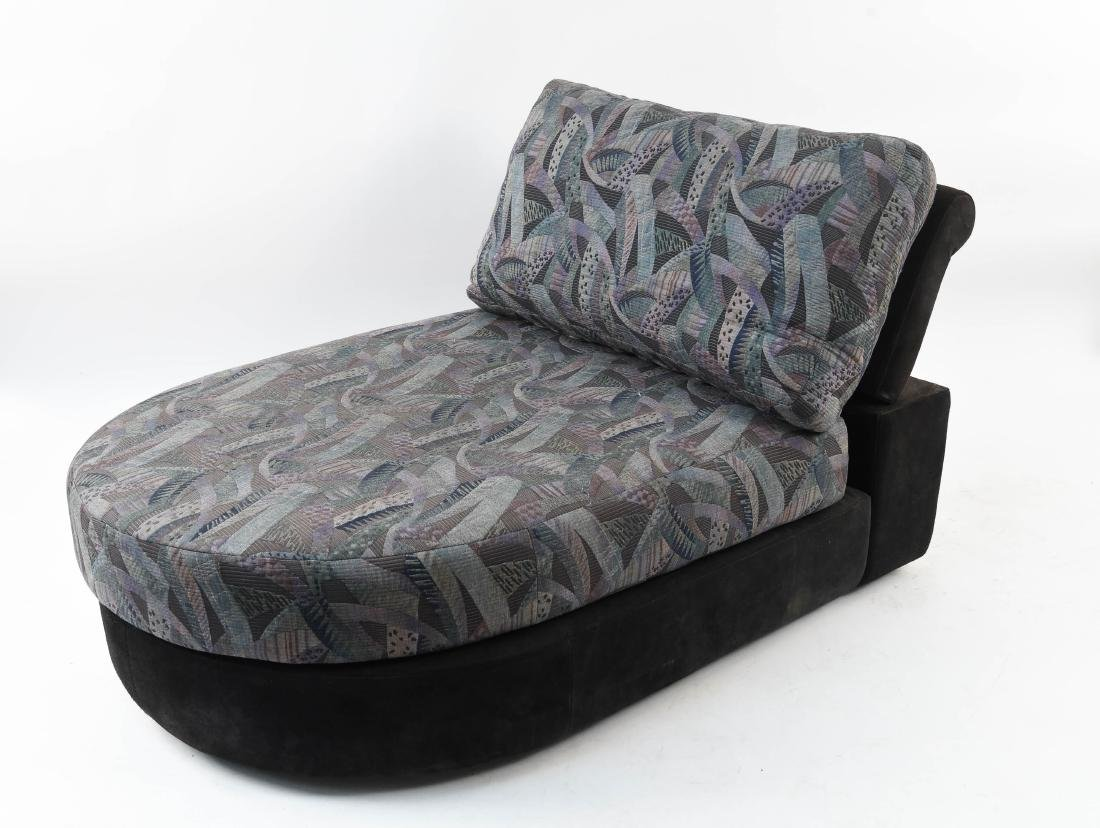 ROCHE BOBOIS UPHOLSTERED CHAISE LOUNGE