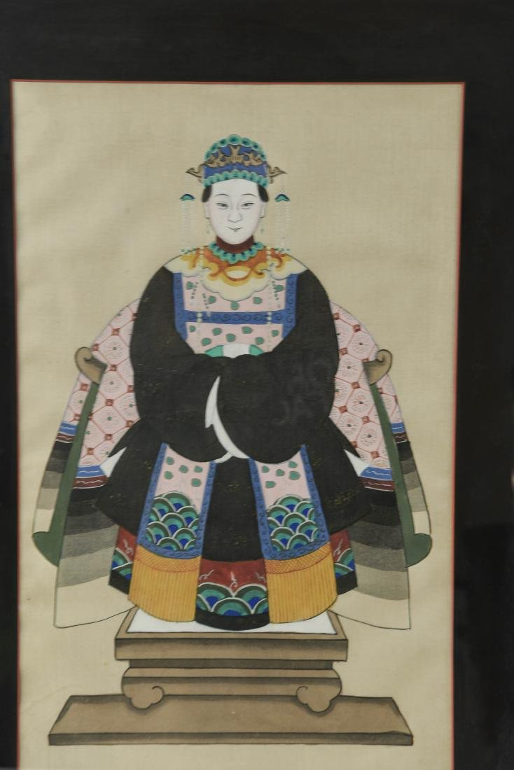 CHINESE ANCESTOR PORTRAIT PAINTINGS - 2