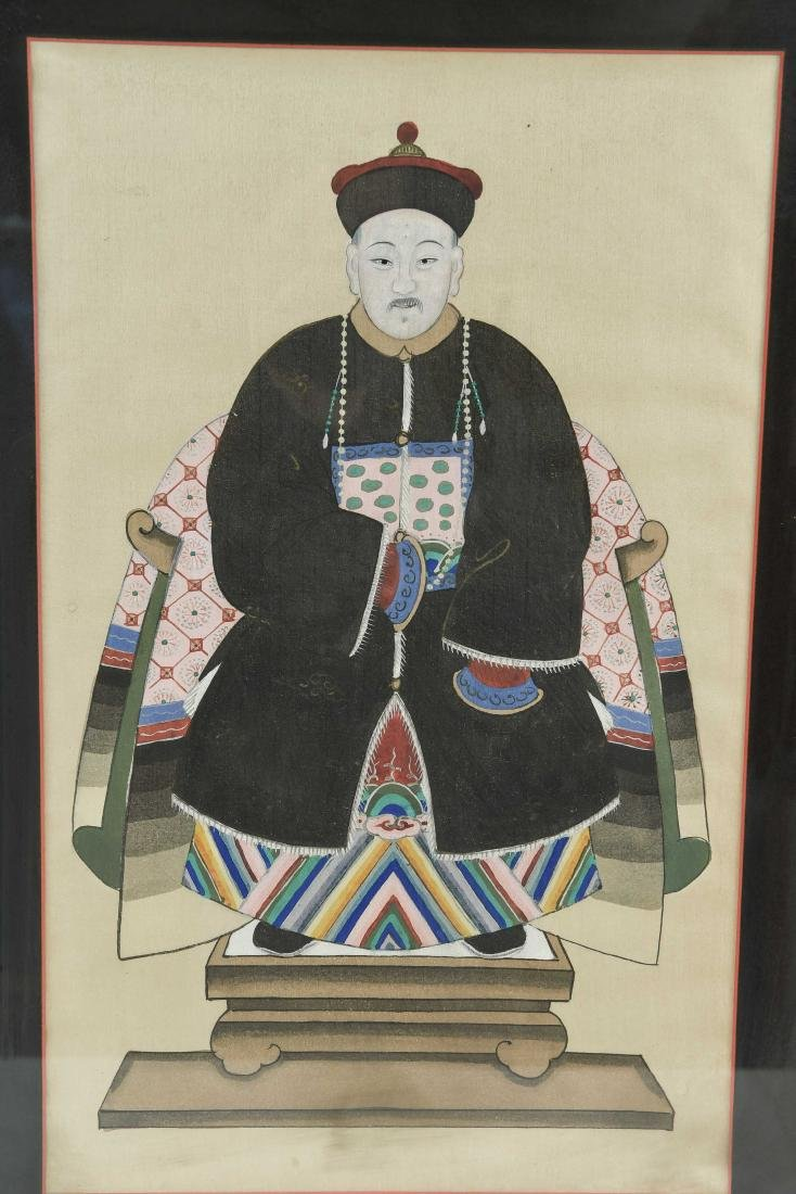 CHINESE ANCESTOR PORTRAIT PAINTINGS - 5