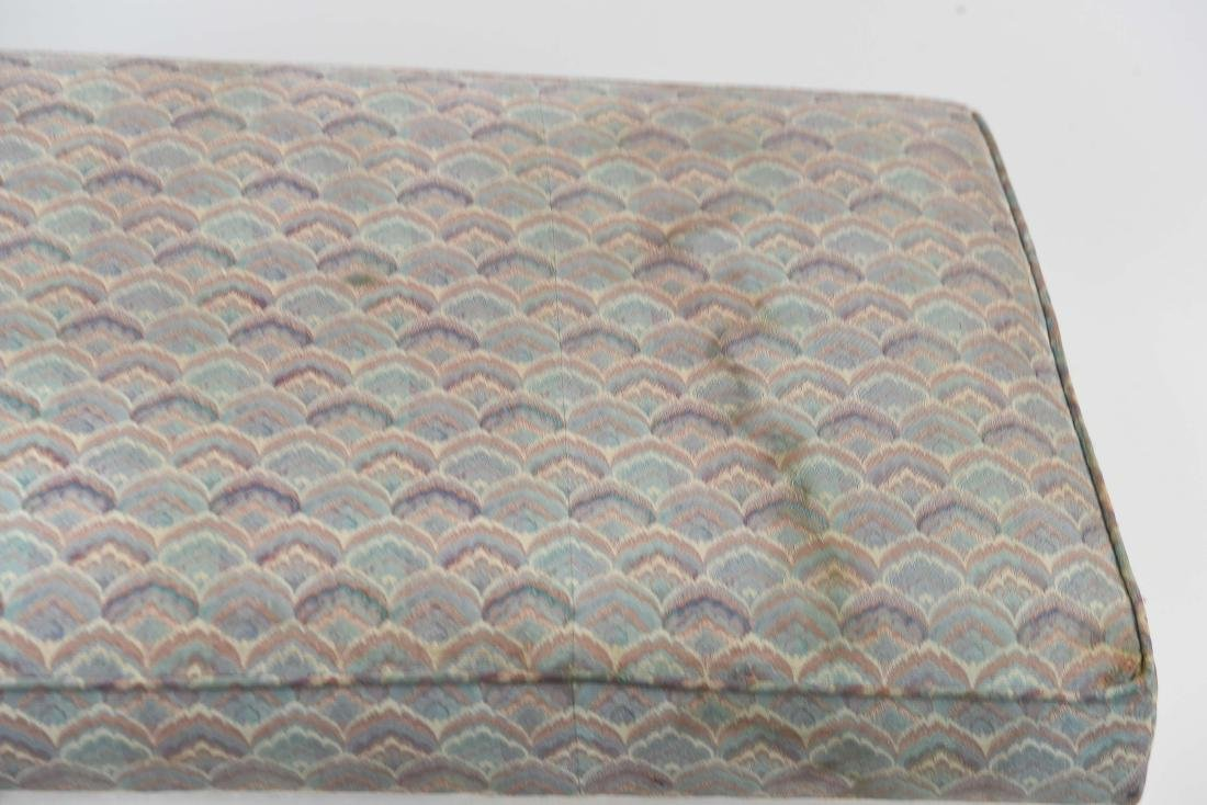 UPHOLSTERED MID-CENTURY BENCH - 2