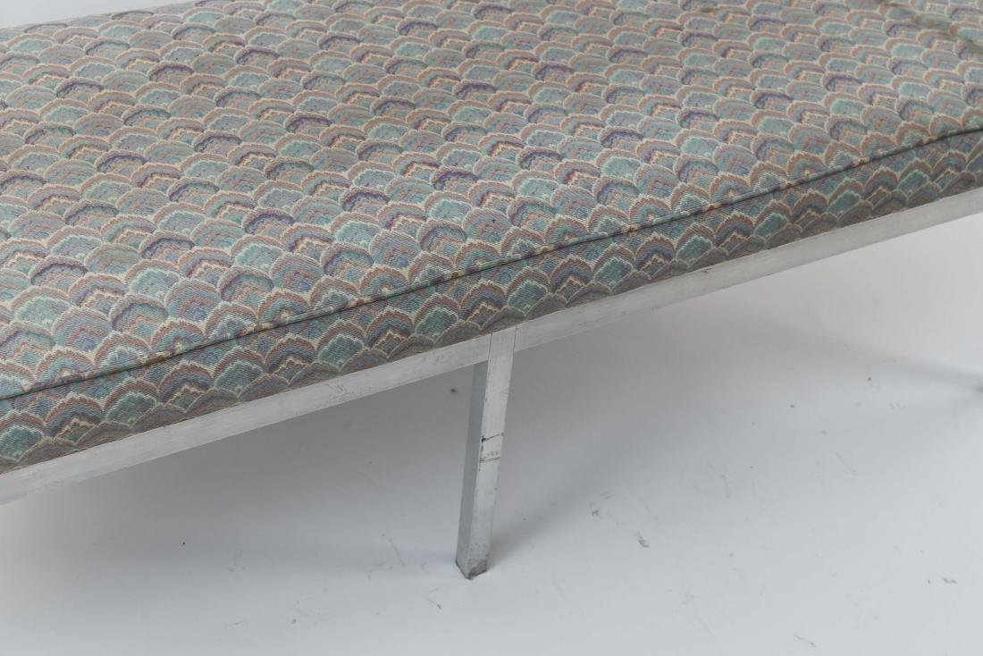 UPHOLSTERED MID-CENTURY BENCH - 5