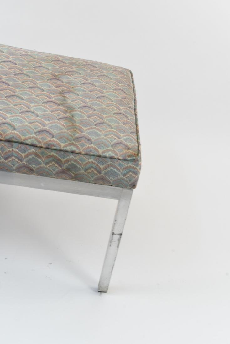 UPHOLSTERED MID-CENTURY BENCH - 6