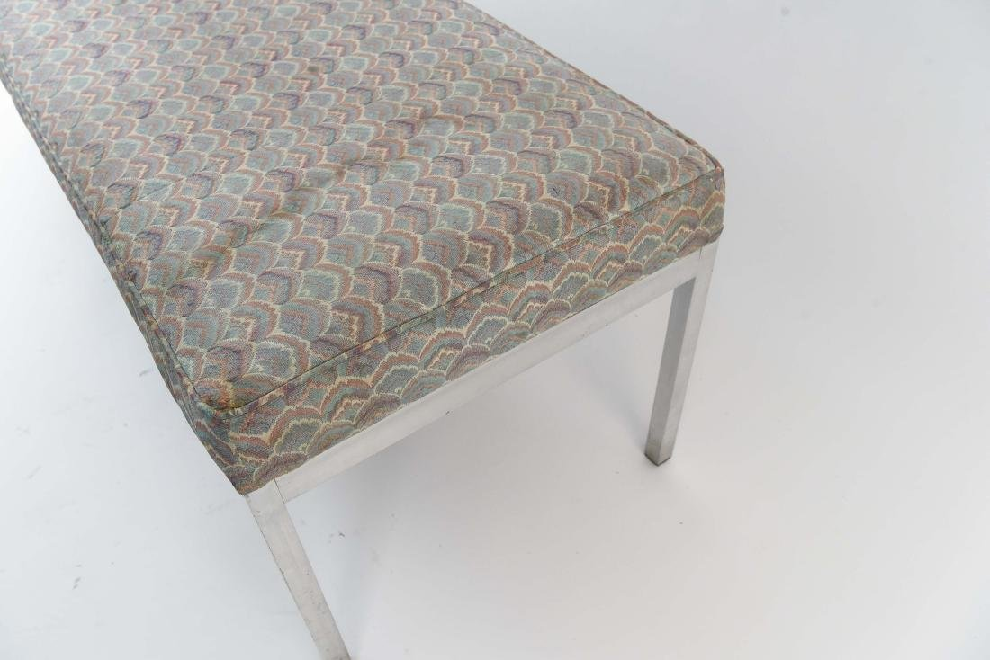 UPHOLSTERED MID-CENTURY BENCH - 7