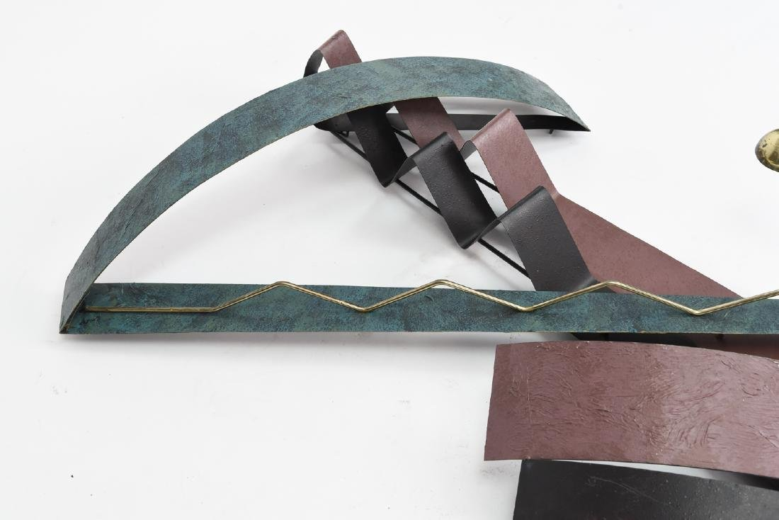 C. JERE ABSTRACT WALL SCULPTURE - 6