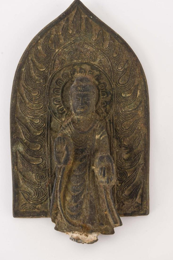 (2) CHINESE NORTHERN WEI STYLE BRONZES - 3
