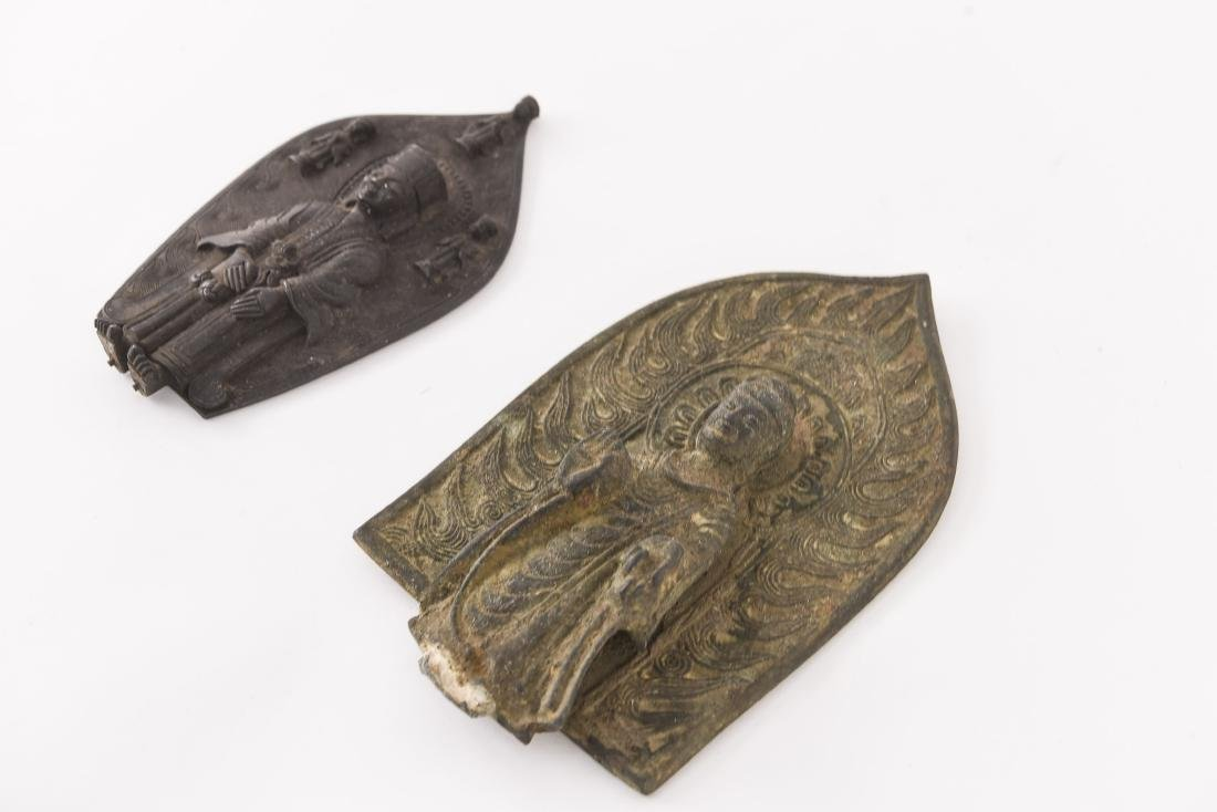 (2) CHINESE NORTHERN WEI STYLE BRONZES - 6