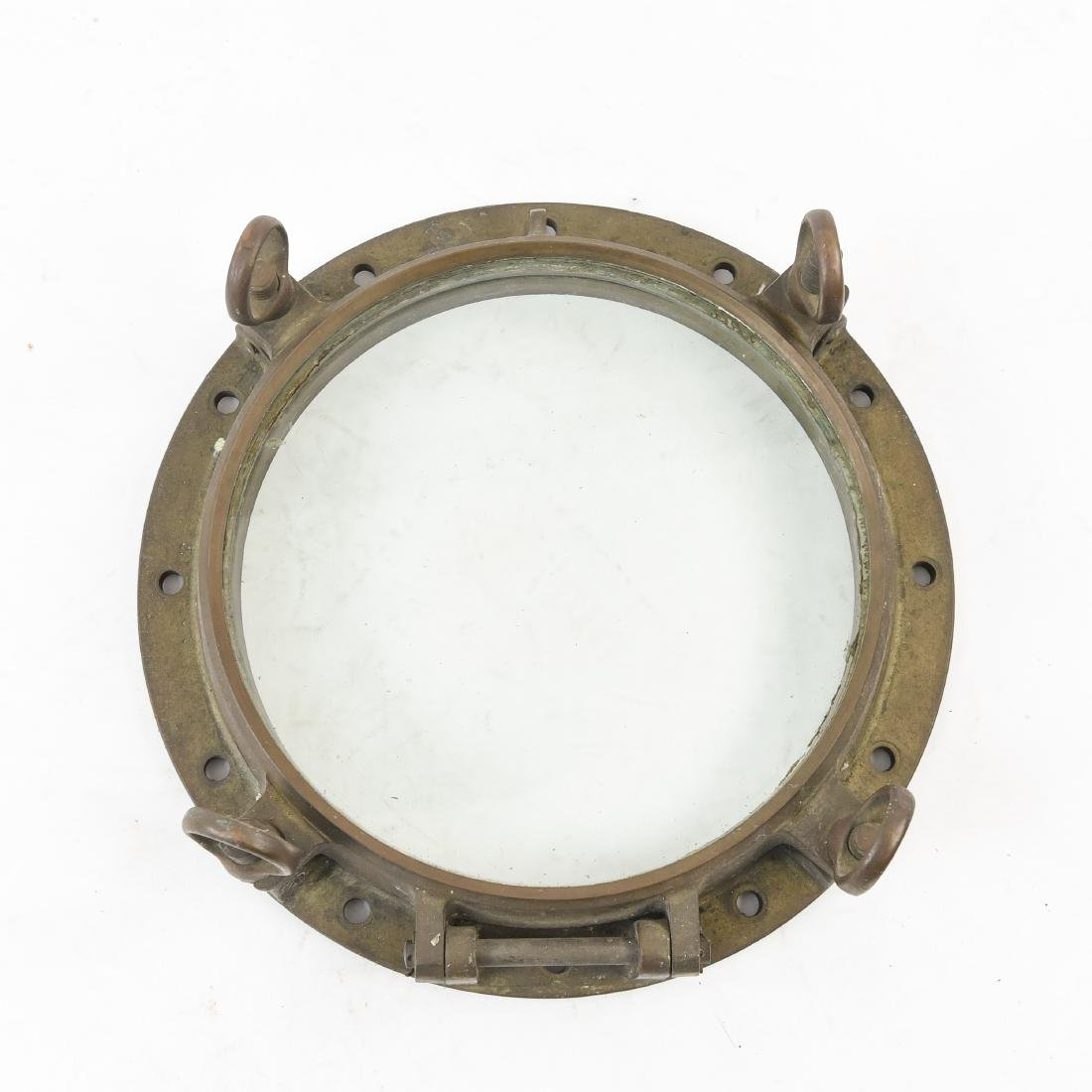 NAUTICAL BRONZE PORT HOLE WINDOW