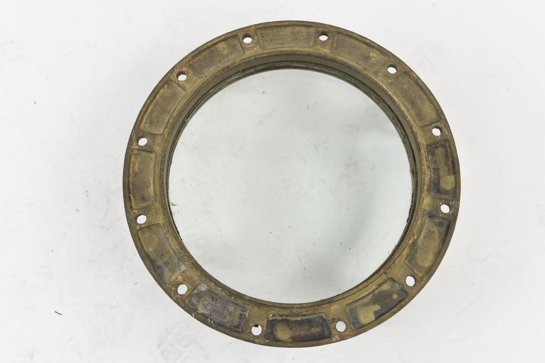 NAUTICAL BRONZE PORT HOLE WINDOW - 6