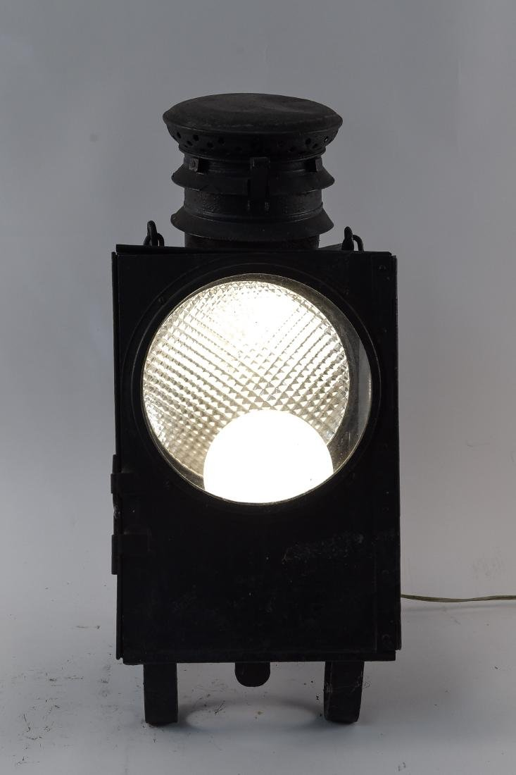 EARLY LANTERN LIGHT FIXTURE LAMP - 10