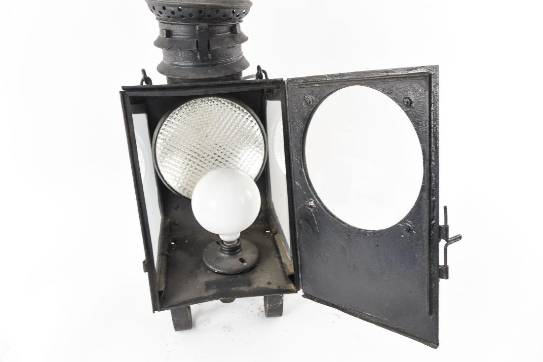 EARLY LANTERN LIGHT FIXTURE LAMP - 9