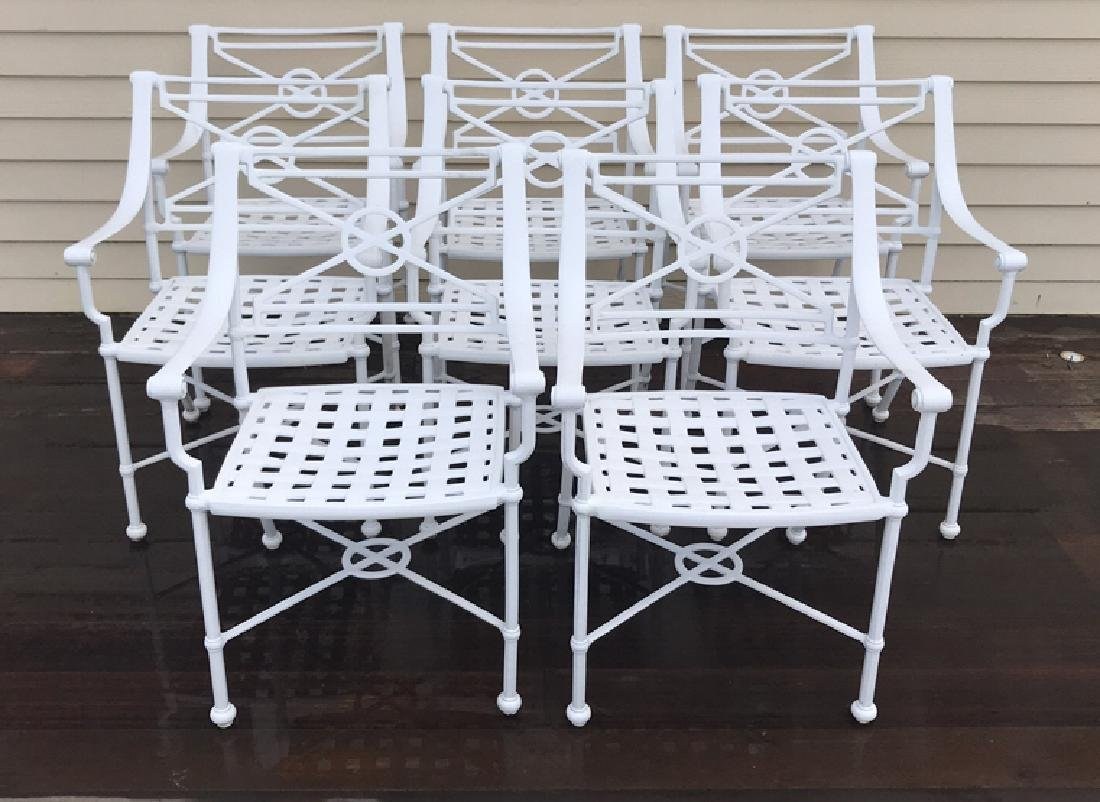 (8) OUTDOOR CHAIRS