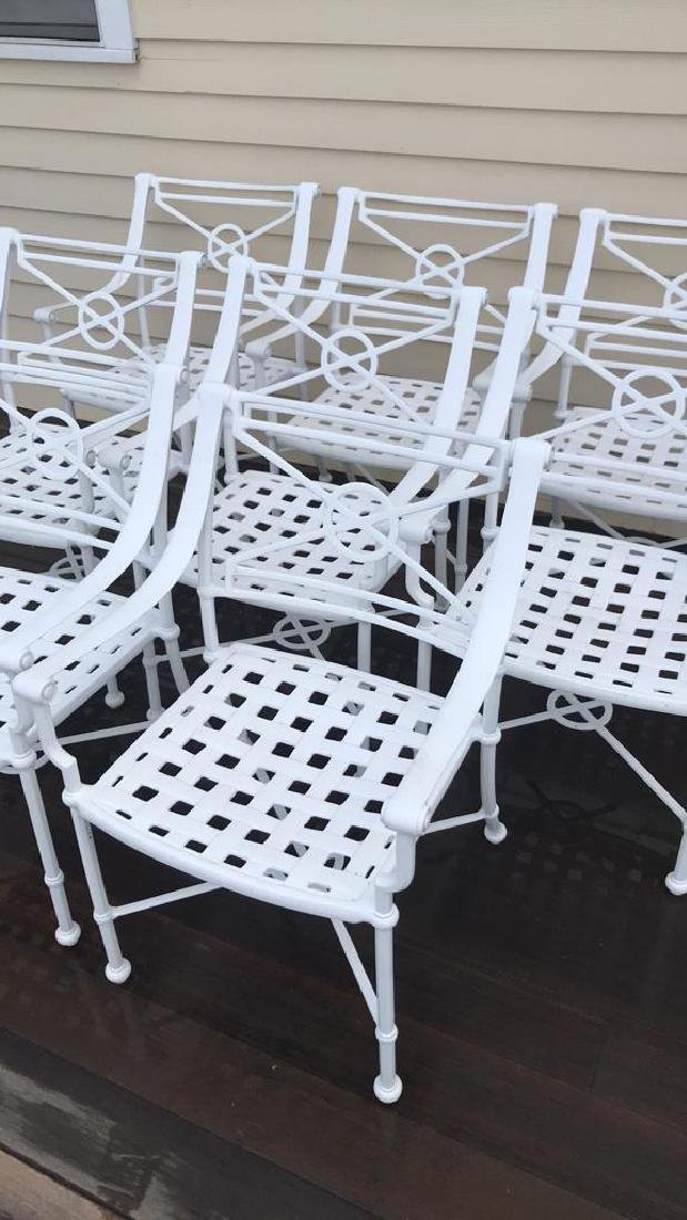 (8) OUTDOOR CHAIRS - 2