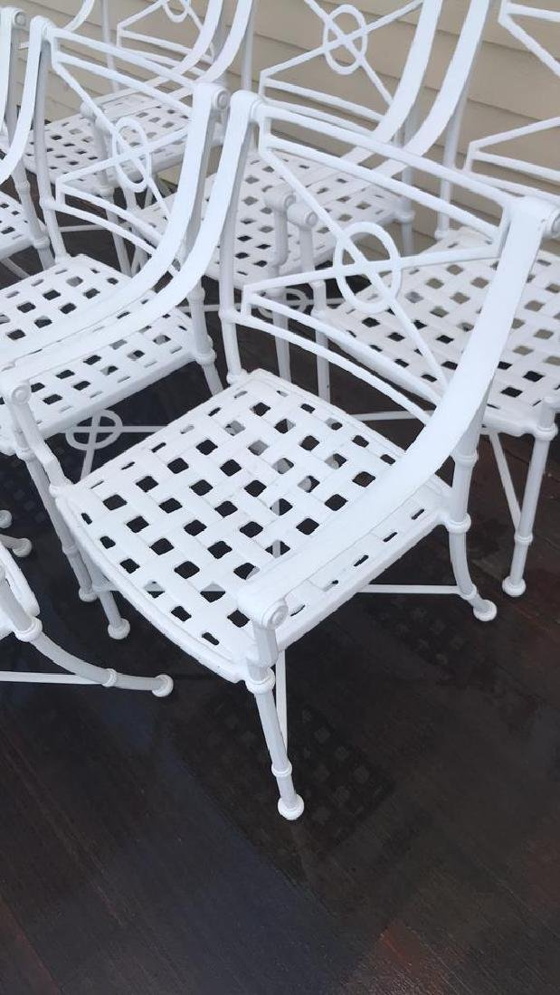 (8) OUTDOOR CHAIRS - 3