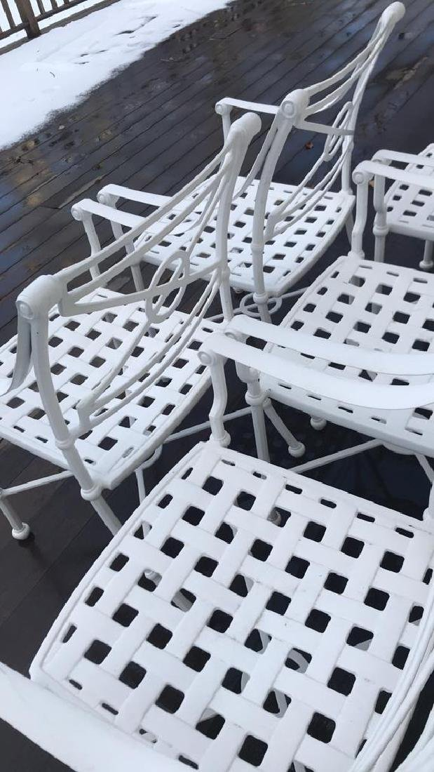 (8) OUTDOOR CHAIRS - 4