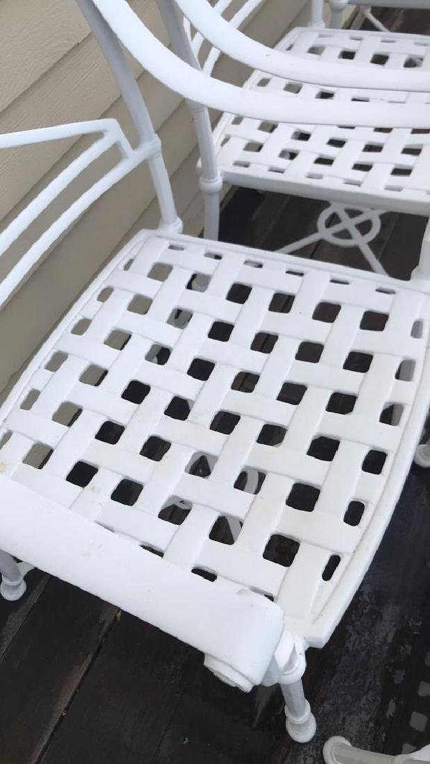 (8) OUTDOOR CHAIRS - 5