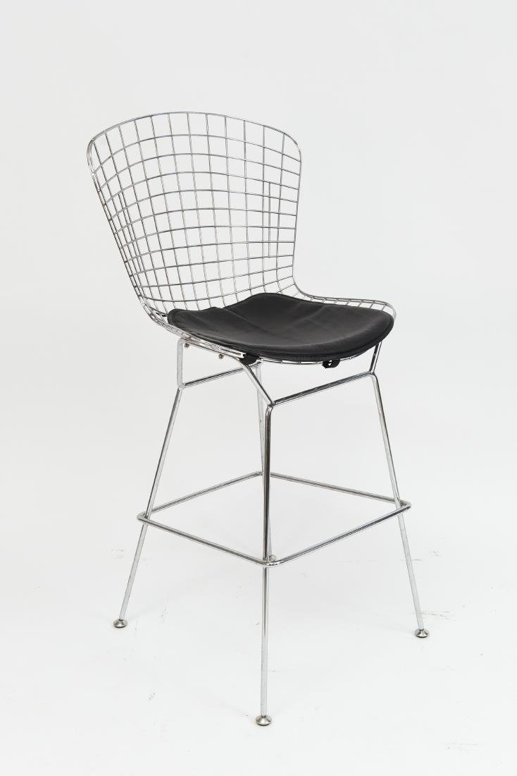 BERTOIA STYLE WIRE BAR STOOL