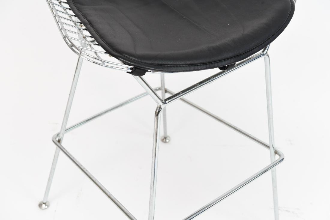 BERTOIA STYLE WIRE BAR STOOL - 4