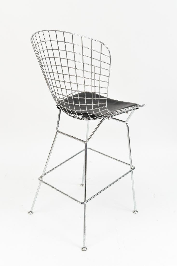 BERTOIA STYLE WIRE BAR STOOL - 8