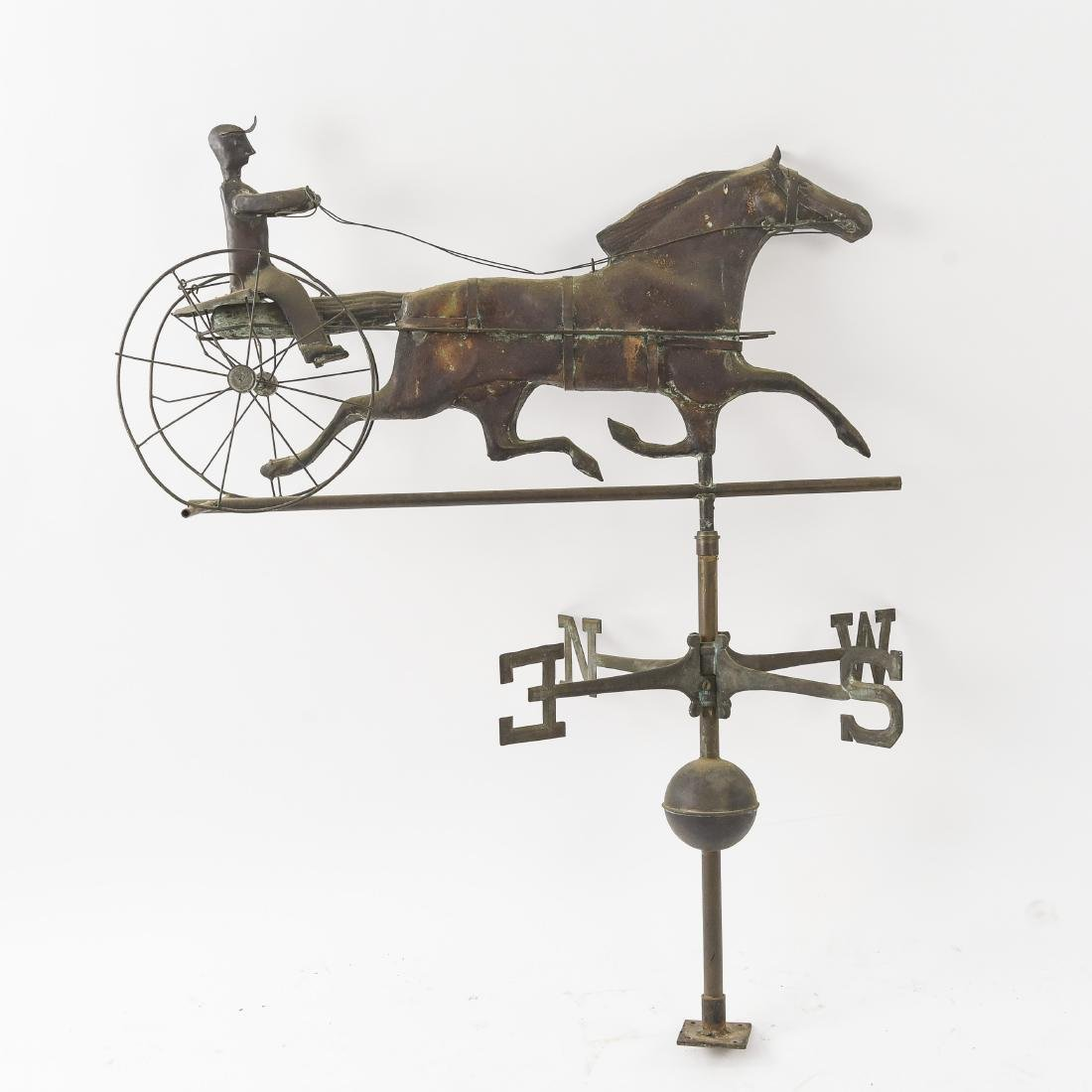 VINTAGE COPPER WEATHERVANE