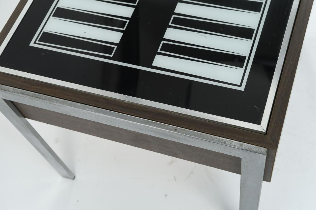 C. 1970S ILLUMINATED BACKGAMMON TABLE - 6