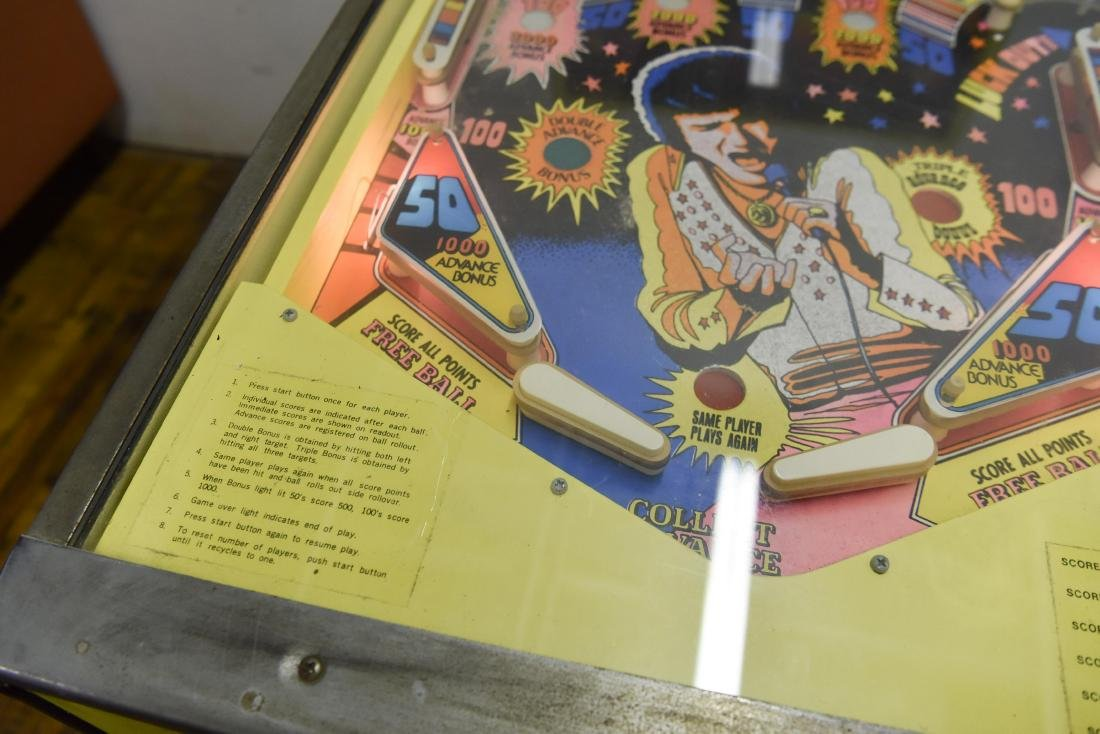 ELVIS PINBALL MACHINE - 6