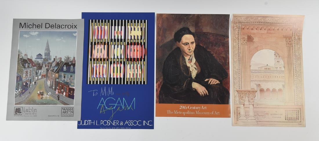 GROUPING OF POSTERS INCLUDING AGAM