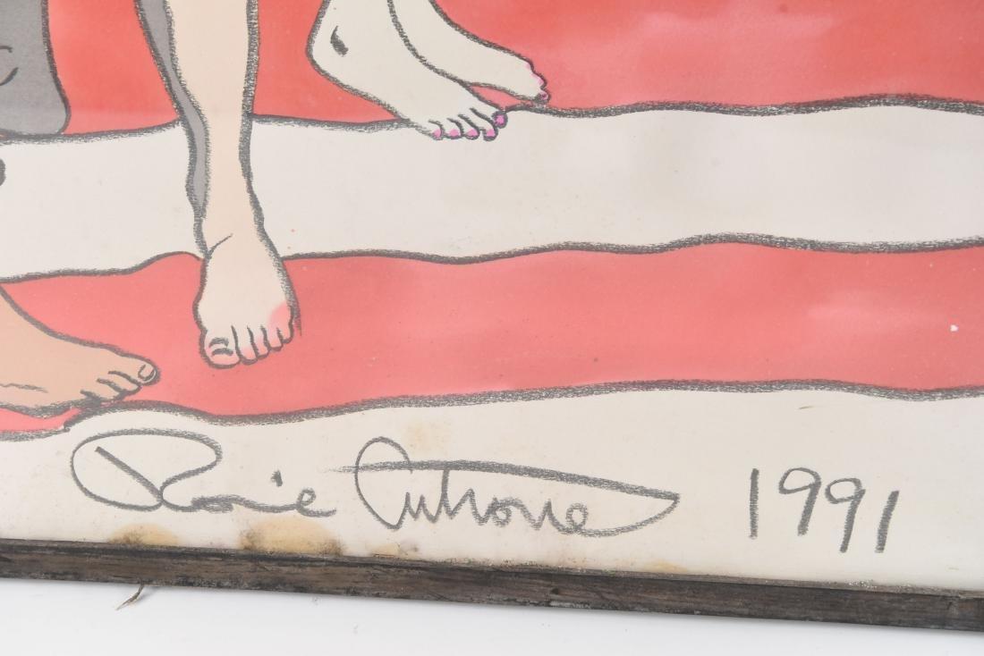 (2) RONNIE CUTRONE (AMERICAN 1948 -2013) PAINTINGS - 6