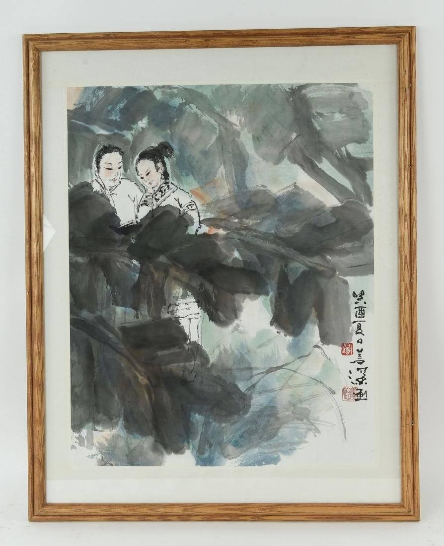 20TH CENTURY CHINESE WATERCOLOR