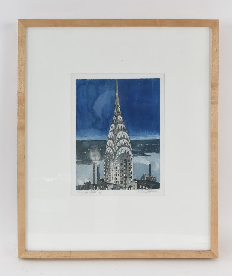CHRYSLER BUILDING PRINT