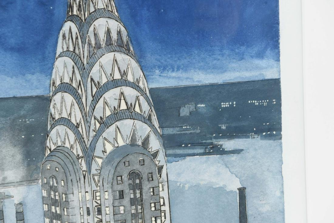CHRYSLER BUILDING PRINT - 8