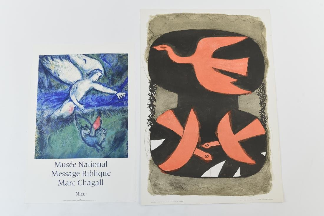 MARC CHAGALL & GEORGES BRAQUE PRINTS
