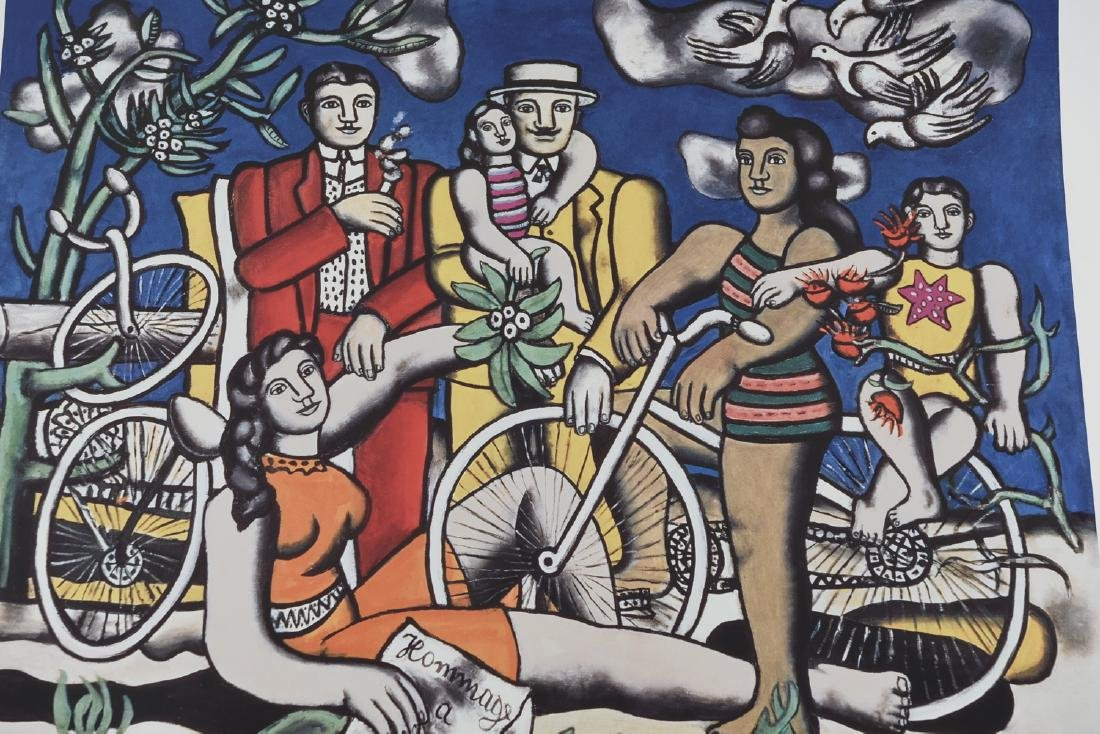 GROUPING OF (4) POSTERS INCL. CHAGALL & LEGER - 6