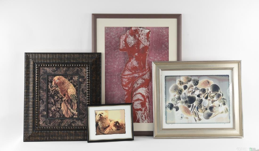 GROUPING OF CONTEMPORARY PRINTS