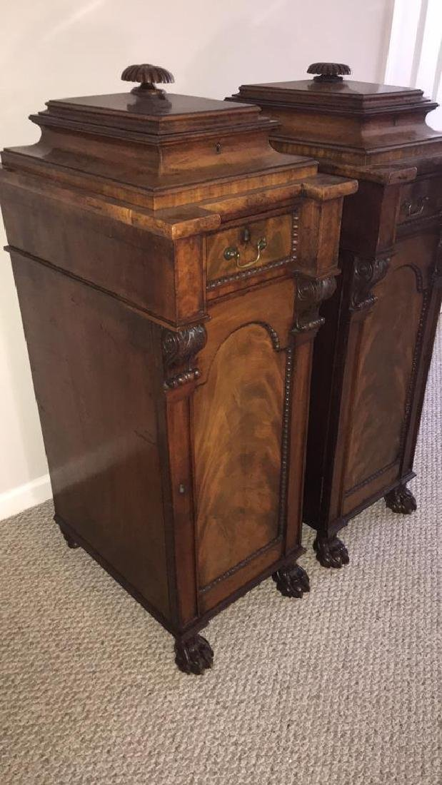 ANTIQUE SIDE CABINETS