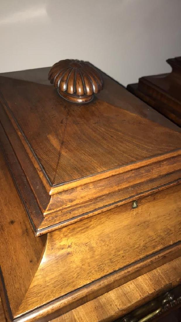 ANTIQUE SIDE CABINETS - 2