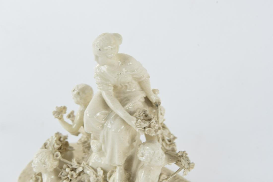 PORCELAIN FIGURAL GROUP - 2