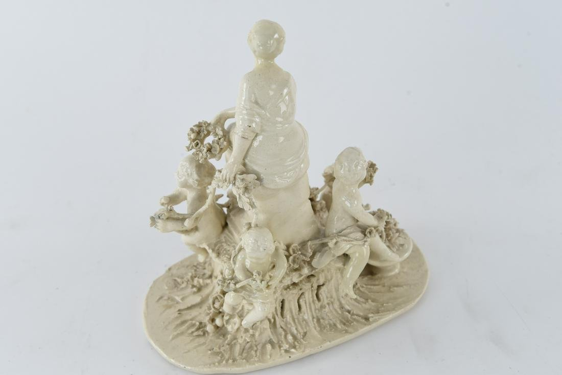 PORCELAIN FIGURAL GROUP - 7