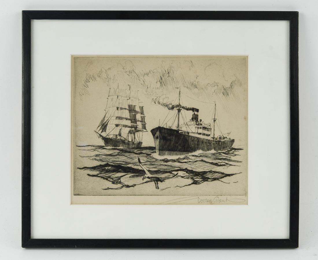GORDON GRANT (AMERICAN 1875- 1962) ETCHING