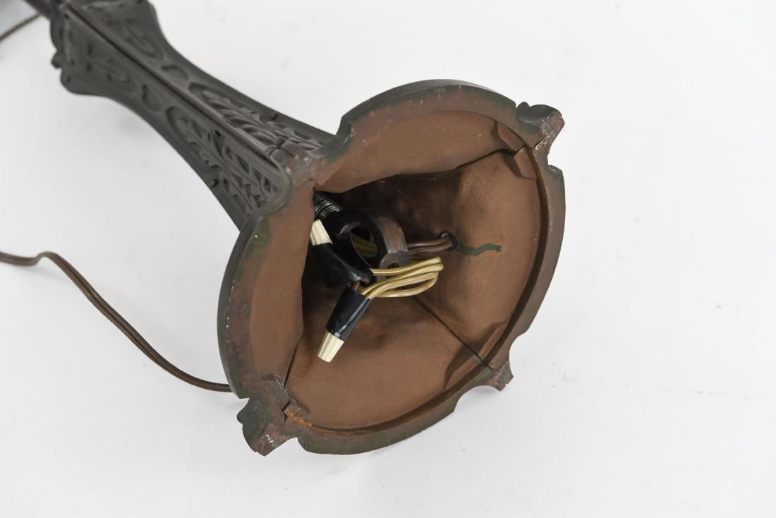 ART NOUVEAU LAMP BASE - 10