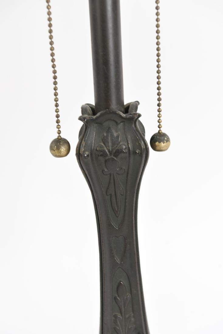 ART NOUVEAU LAMP BASE - 5