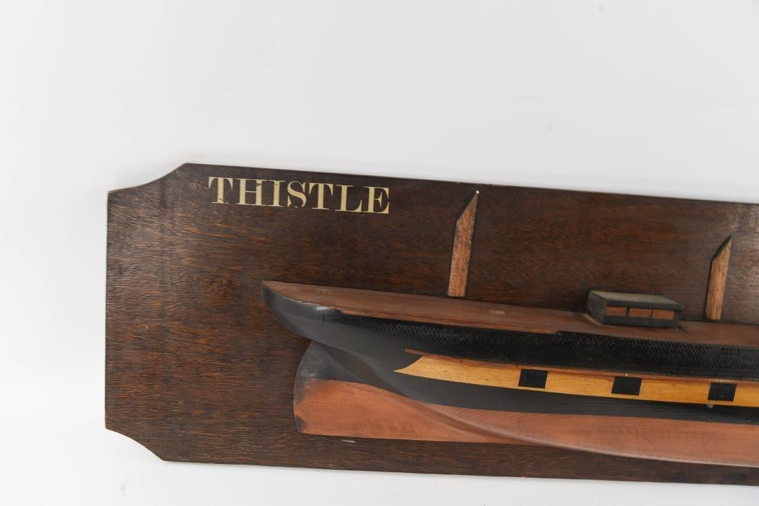 HALF HULL SHIPS DISPLAY MODEL - 2